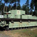 Выдающийся подвиг экипажа танка Т-28